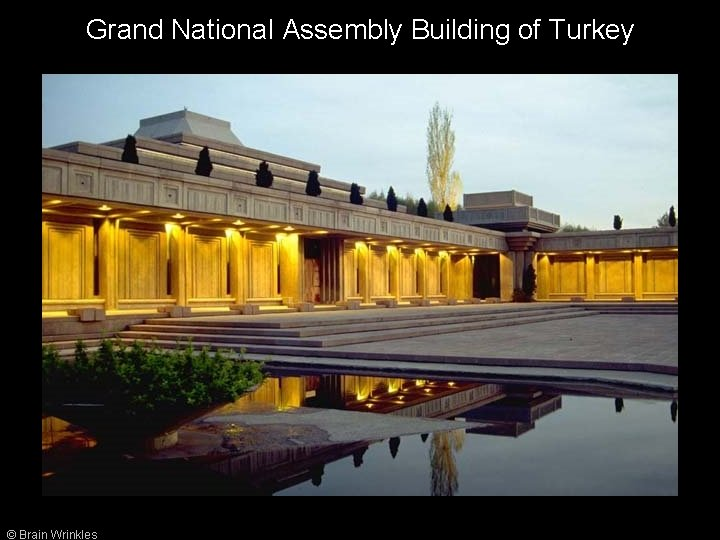 Grand National Assembly Building of Turkey © Brain Wrinkles