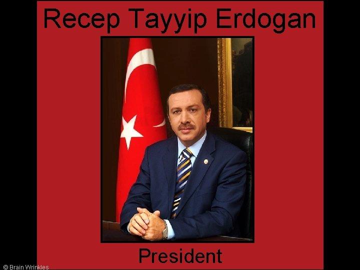 Recep Tayyip Erdogan © Brain Wrinkles President