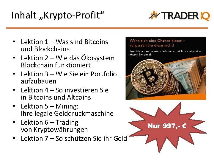 Bitcoins: So Investieren Sie Sicher In Die Kryptowährung