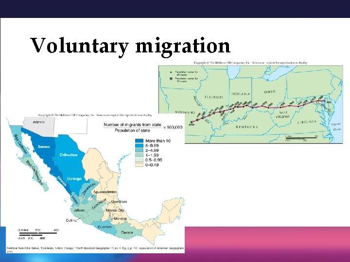 Voluntary migration