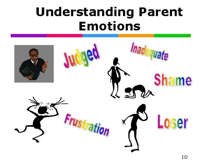 Understanding Parent Emotions 10
