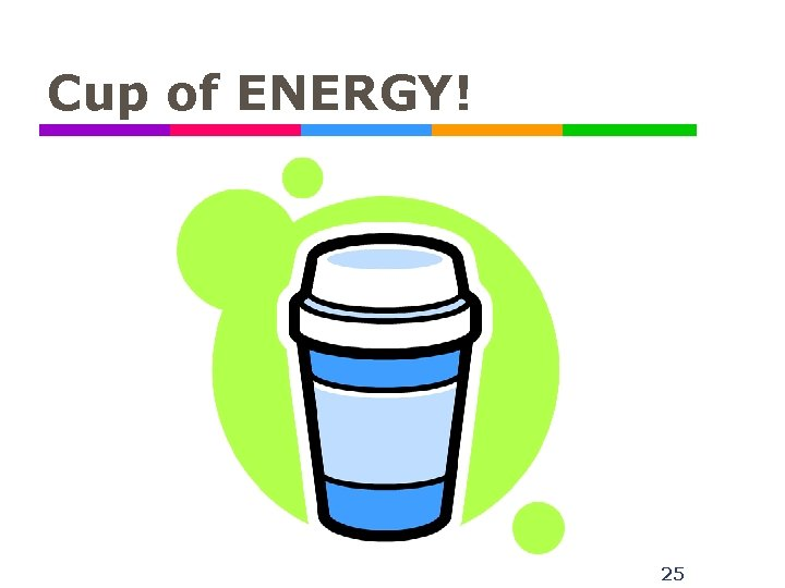 Cup of ENERGY! 25
