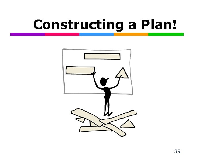 Constructing a Plan! 39