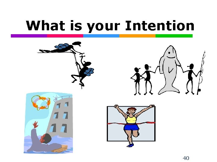 What is your Intention 40