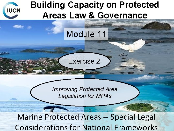Building Capacity on Protected Areas Law & Governance Module 11 Exercise 2 Improving Protected