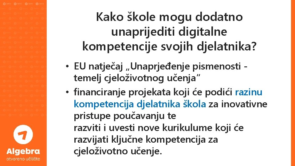 """Kako škole mogu dodatno unaprijediti digitalne kompetencije svojih djelatnika? • EU natječaj """"Unaprjeđenje pismenosti"""