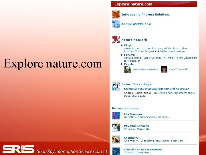 Explore nature. com