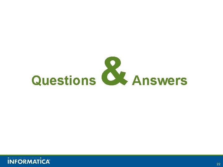 Questions & Answers 22