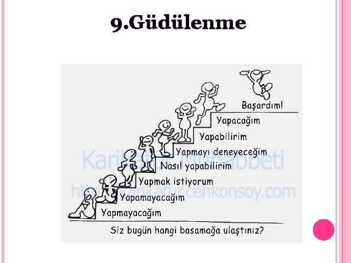 9. Güdülenme