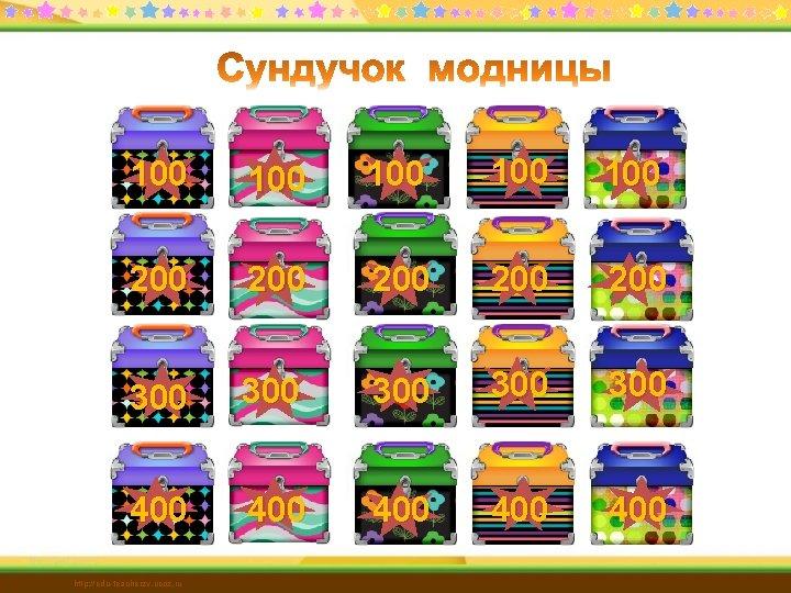 100 100 100 200 200 200 300 300 300 400 400 400 http: //edu-teacherzv.