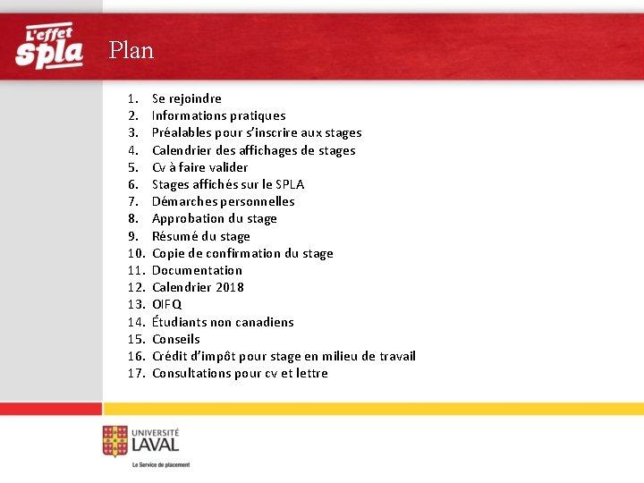Plan 1. 2. 3. 4. 5. 6. 7. 8. 9. 10. 11. 12. 13.
