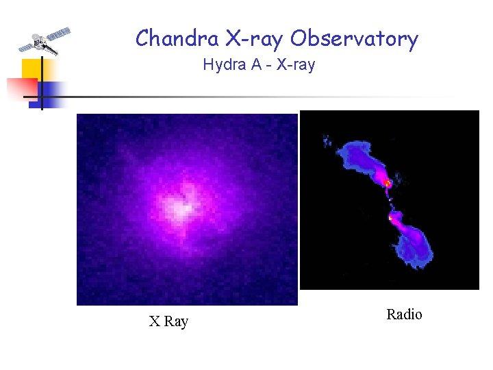 Chandra X-ray Observatory Hydra A - X-ray X Ray Radio