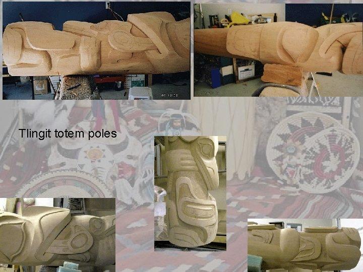 Tlingit totem poles