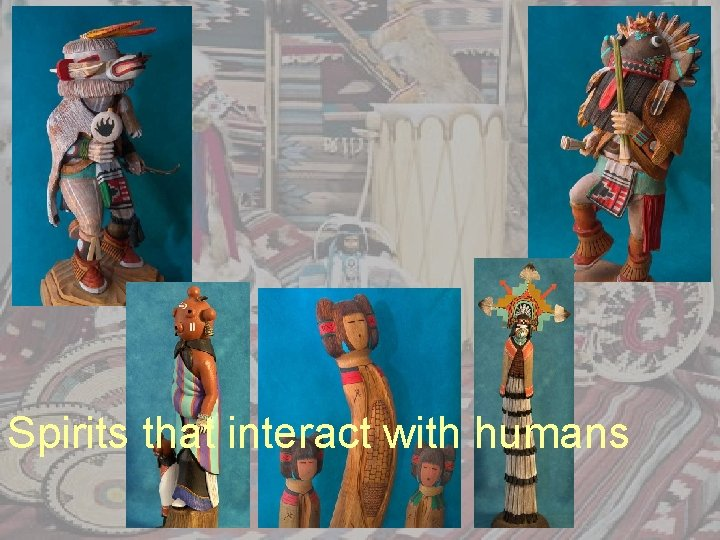 Spirits that interact with humans