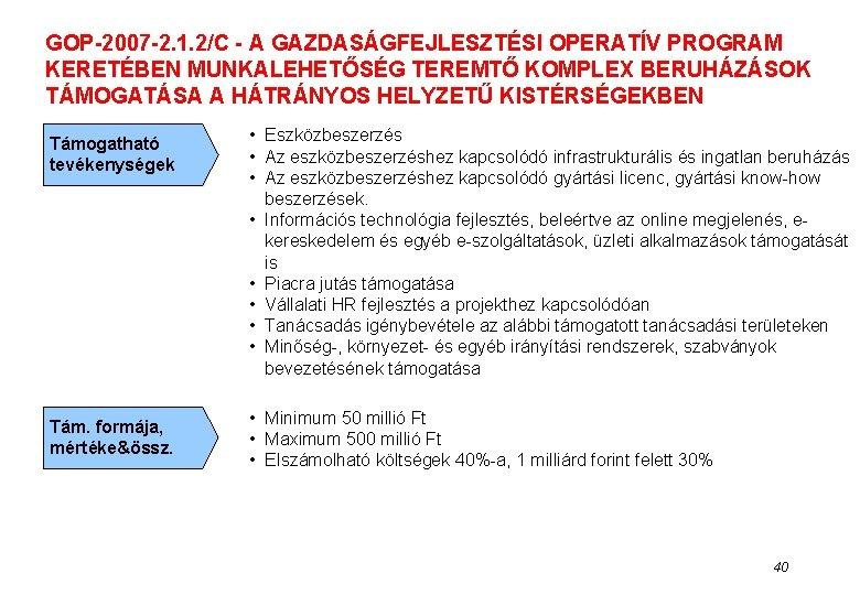 Szolgáltatási támogatási szabványok