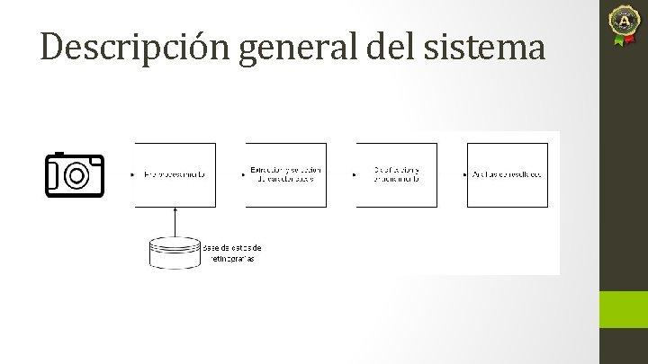 Descripción general del sistema