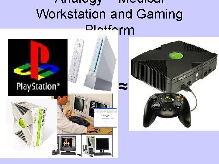 Analogy – Medical Workstation and Gaming Platform ≈