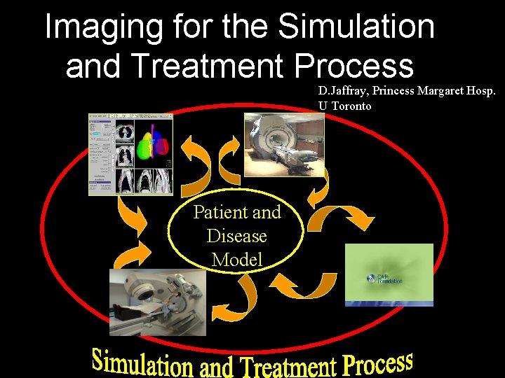 Imaging for the Simulation and Treatment Process D. Jaffray, Princess Margaret Hosp. U Toronto