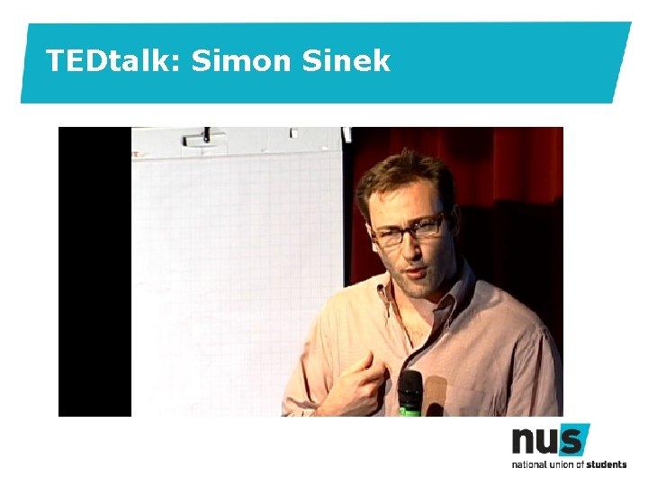 TEDtalk: Simon Sinek