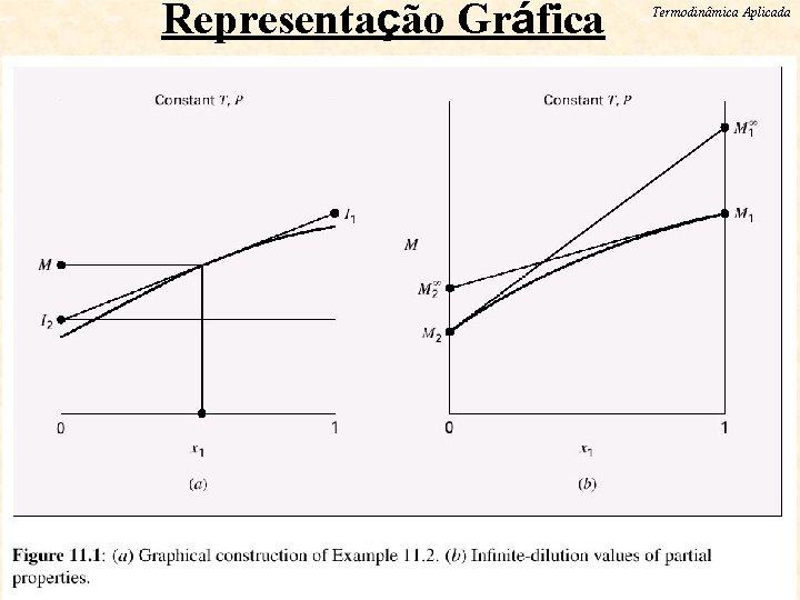 Representação Gráfica ESCOLA DE QUIMICA / UFRJ Termodinâmica Aplicada