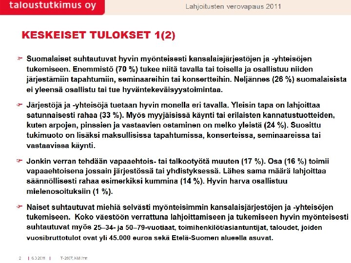 16. 1. 2014 Suomen 4 H-liitto / Hilkka Näse 5