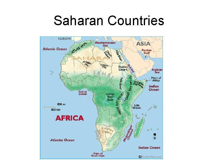 Saharan Countries