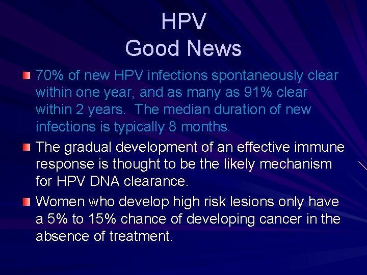 hpv treatment news