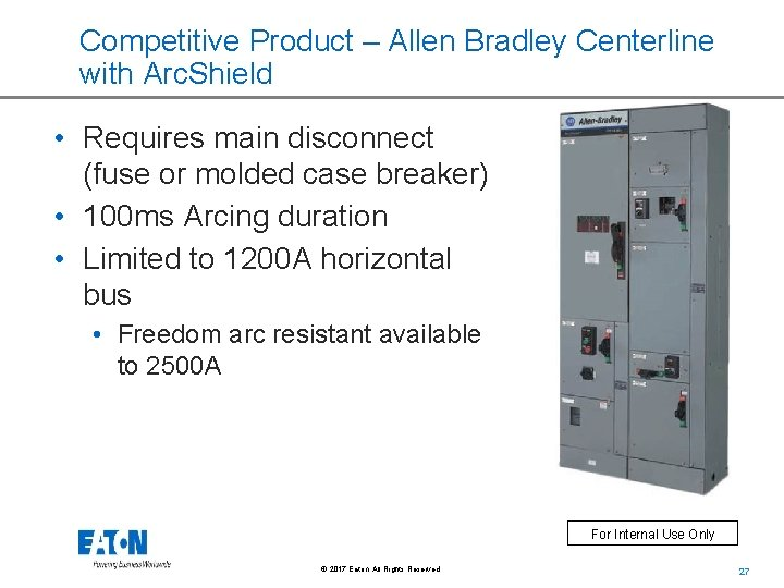 freedom arc resistant motor control