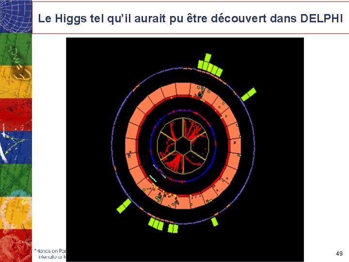 Le Higgs tel qu'il aurait pu être découvert dans DELPHI 49