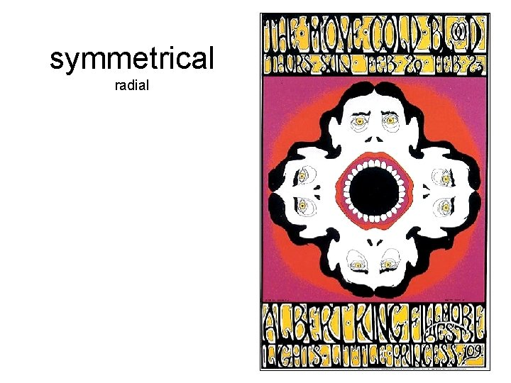 symmetrical radial