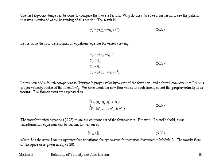 One last algebraic binge can be done to compare the two eta factors. Why