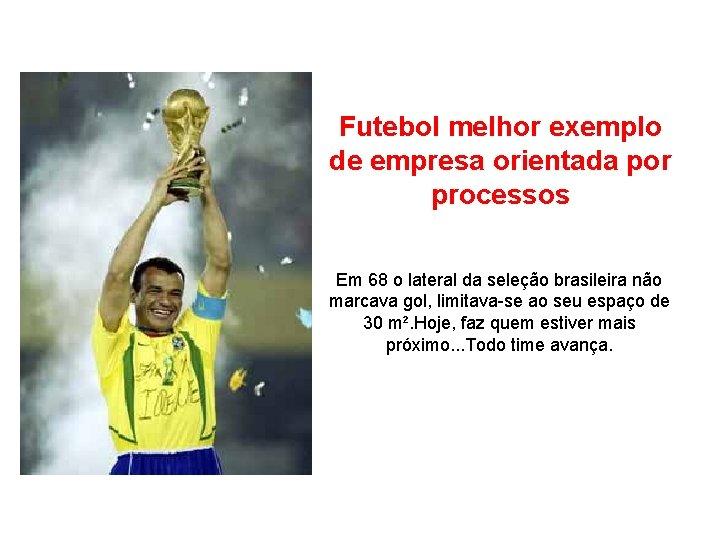 Futebol melhor exemplo de empresa orientada por processos Em 68 o lateral da seleção