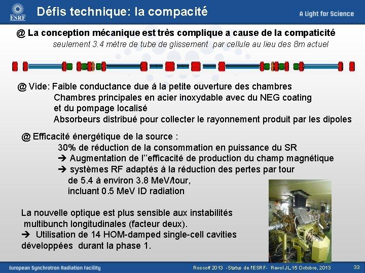 Défis technique: la compacité @ La conception mécanique est très complique a cause de