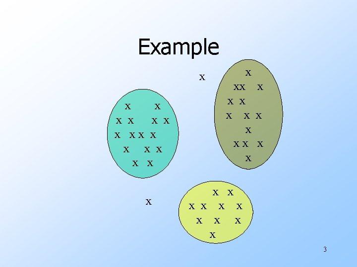 Example x x x x xx x x x x x x 3