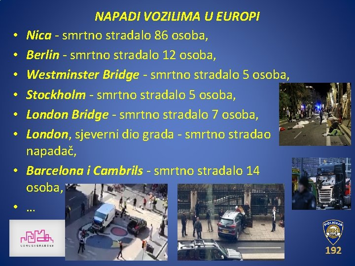 • • NAPADI VOZILIMA U EUROPI Nica - smrtno stradalo 86 osoba, Berlin