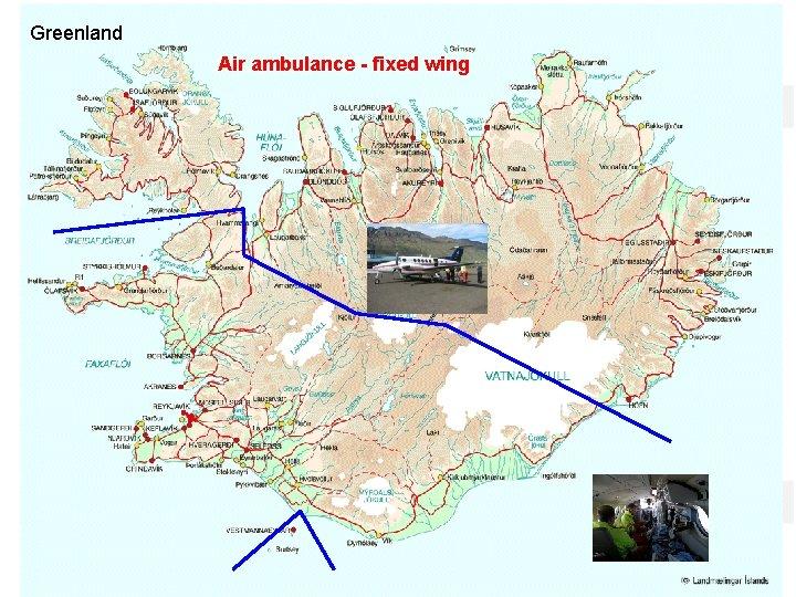 Greenland Air ambulance - fixed wing