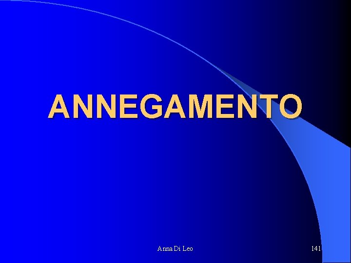 ANNEGAMENTO Anna Di Leo 141