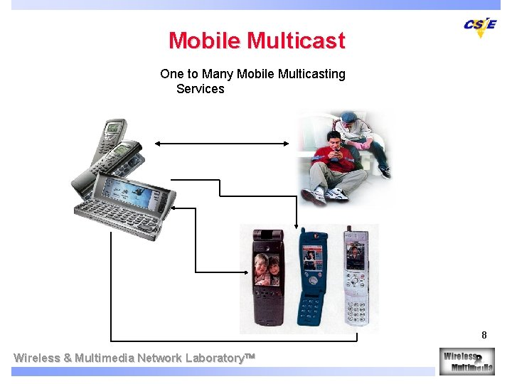 Mobile Multicast One to Many Mobile Multicasting Services 8 Wireless & Multimedia Network Laboratory