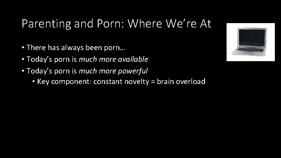 Parenting porn