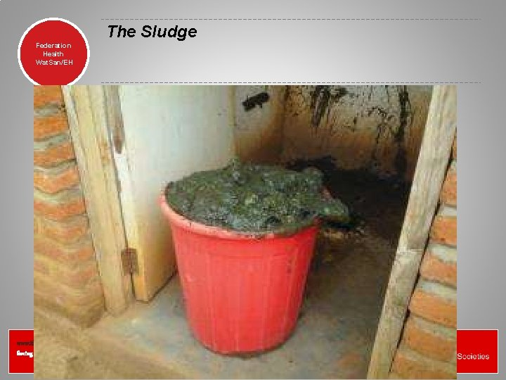 The Sludge Federation Health Wat. San/EH www. ifrc. org Saving lives, changing minds.