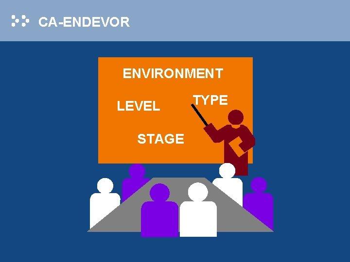 CA-ENDEVOR ENVIRONMENT LEVEL STAGE TYPE