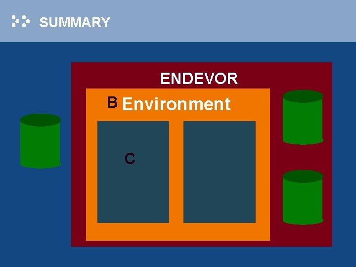 SUMMARY ENDEVOR B Environment C