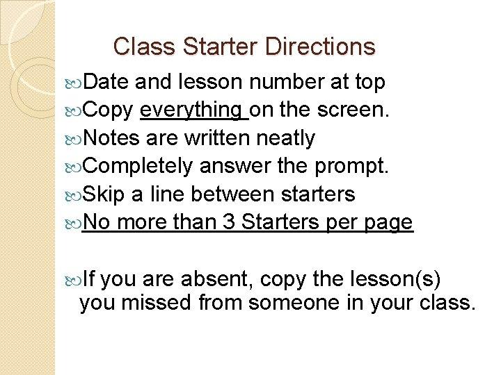 dating starter starters)