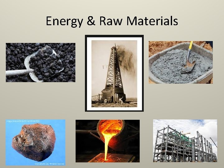 Energy & Raw Materials