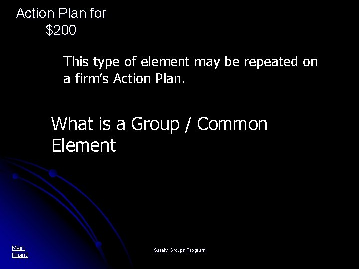 Action Plan for $200 This type of element may be repeated on a firm's