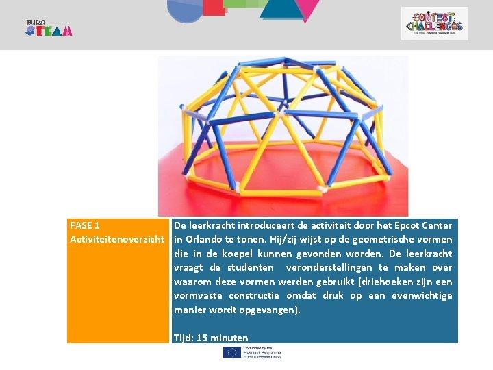 1. KANPALDIA Contest and Challenges Camp FASE 1 De leerkracht introduceert de activiteit door