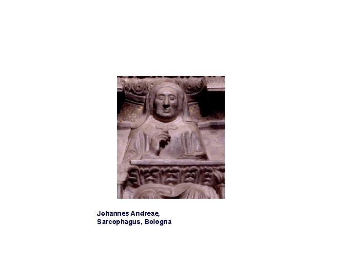 Johannes Andreae, Sarcophagus, Bologna