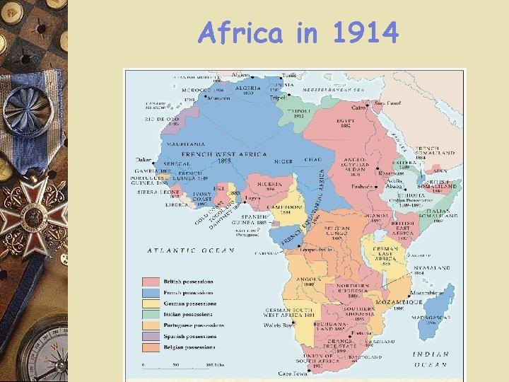 Africa in 1914