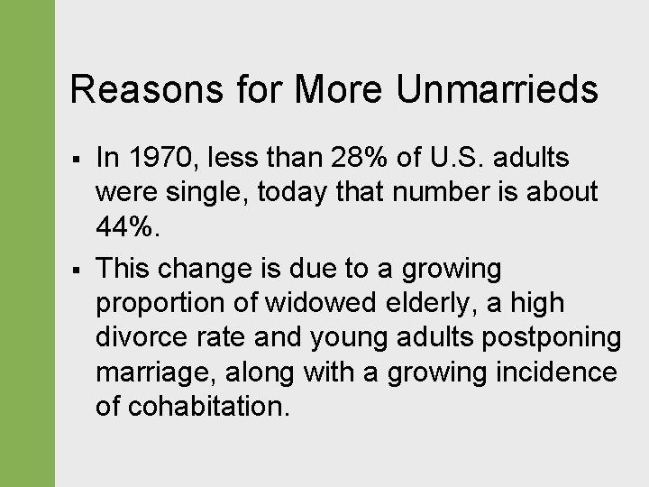 Cohabitation reasons against Shacking Up: