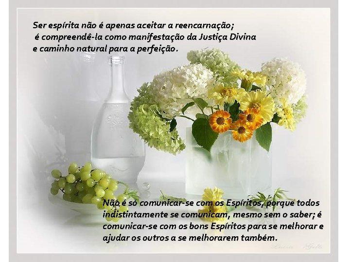 Ser espírita não é apenas aceitar a reencarnação; é compreendê-la como manifestação da Justiça